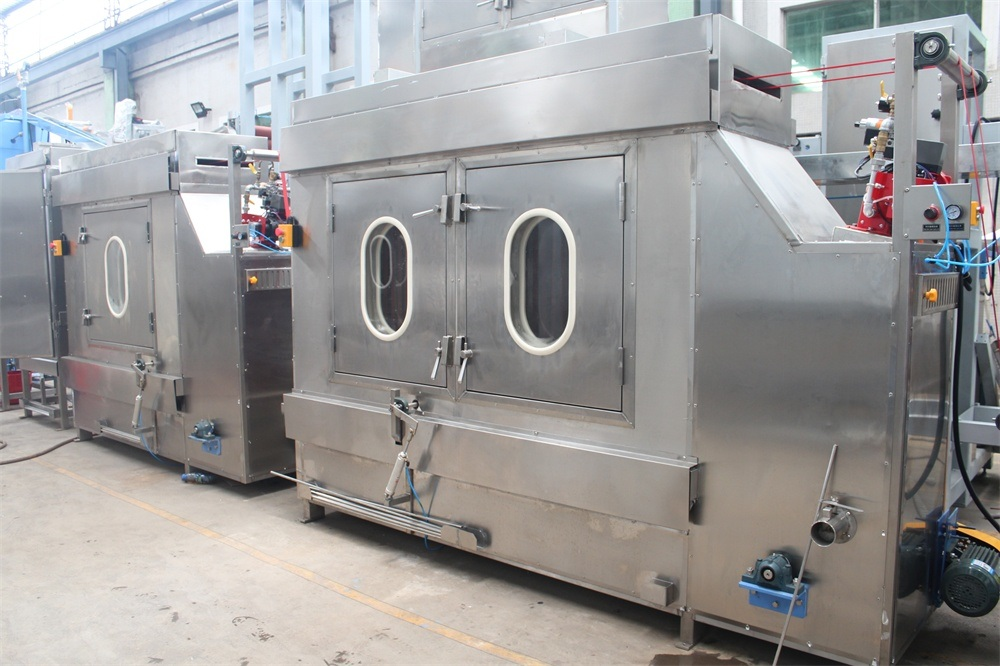 factory customized Nylon Shoulder Tapes Dyeing Machine - High Temp Polyester Ribbons Dyeing&Finishing Machine – Kin Wah