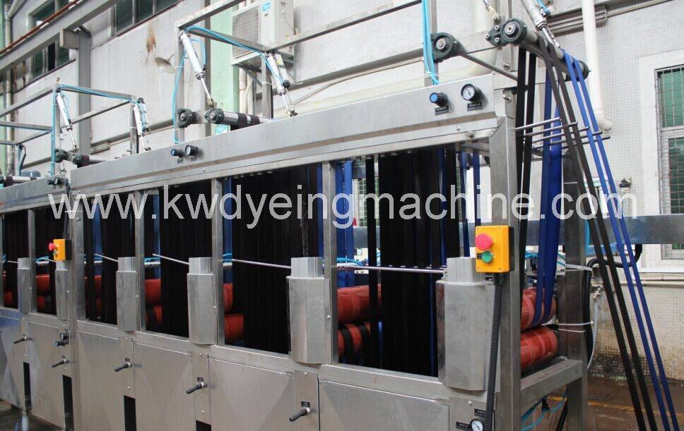 Hot-selling Label Slik Screen Printing Machine - Suitcase Belts&Webbings Continuous Dyeing and Finishing Machine Kw-800 Series – Kin Wah