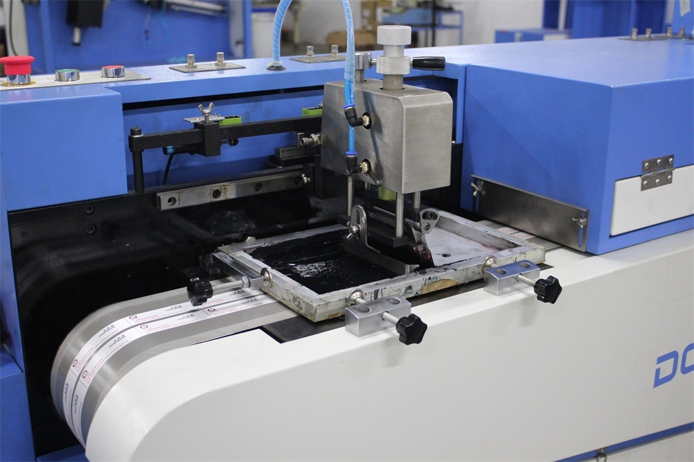 Care Label Automatic Screen Printing Machine