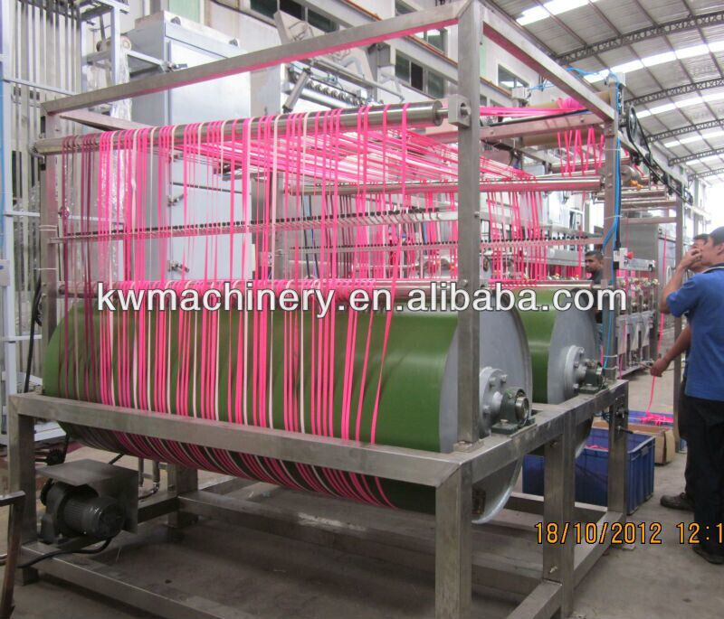 Nylon Tapes Continuous Dyeing&Finishing Machine with High Speed