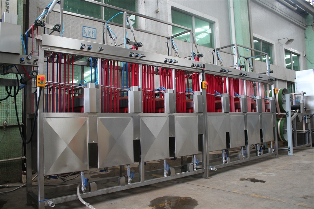 Polyester Gift Webbings Continuous Dyeing&Finishing Machine Manufacturer