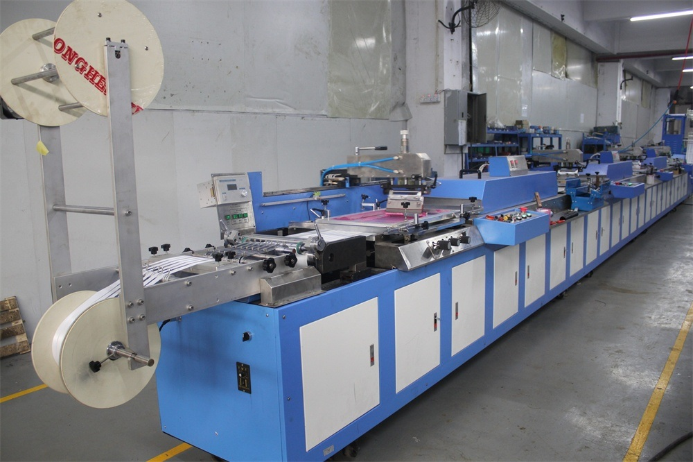 Chinese Professional Cloth Labels Screen Printing Machine -