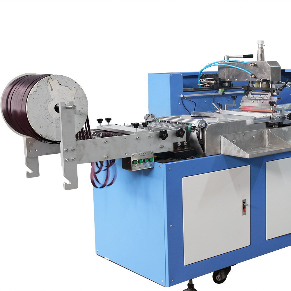 Multicolor Roll to Roll Label Automatic Silk Screen Printing Machine