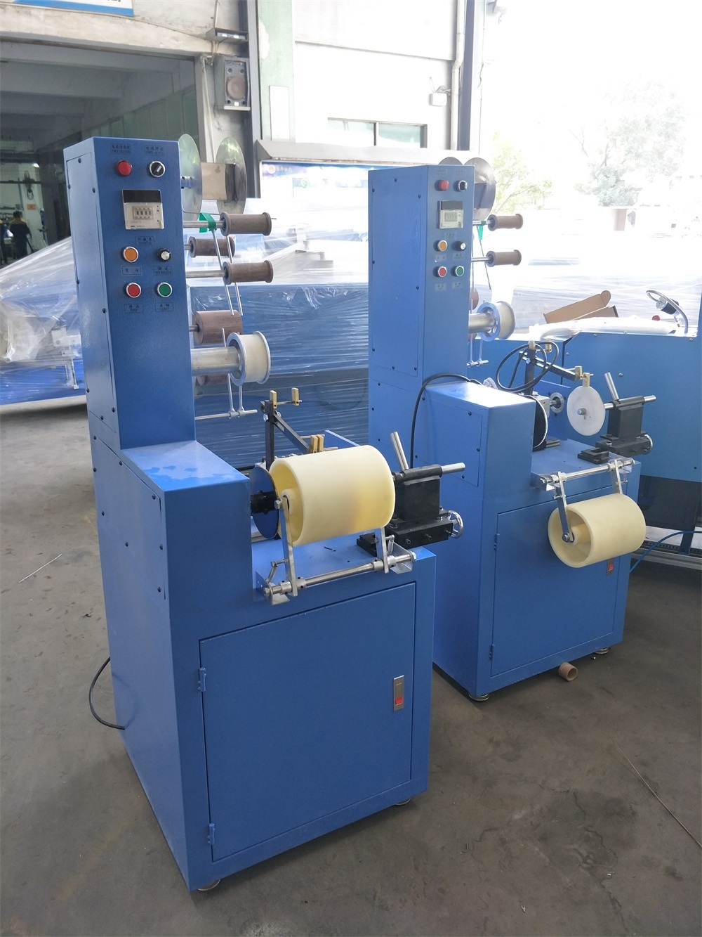Packing Machine for Non-Elastic Tapes