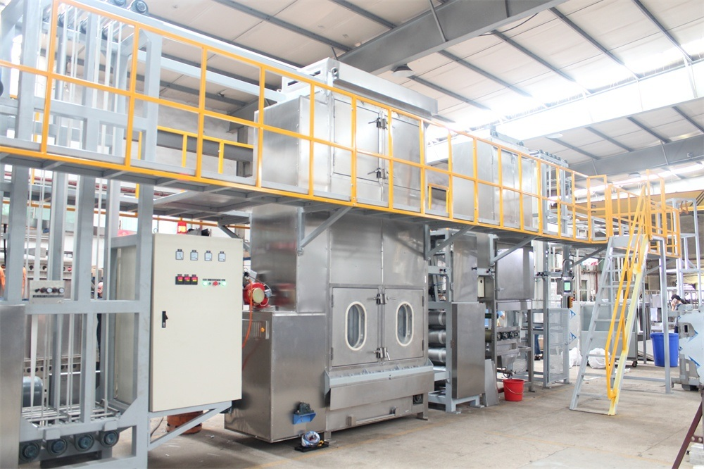 Single Line Sling Webbing Continuous Dyeing and Finishing Machine Featured Image