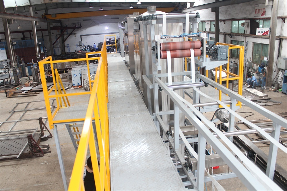 OEM Supply Machine For Making Nylon Rope - Wide Sling Webbing Continuous Dyeing and Finishing Machine with Ce – Kin Wah