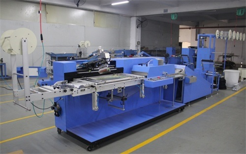 OEM China 6 Heads Narrow Fabric Rolling Machine -