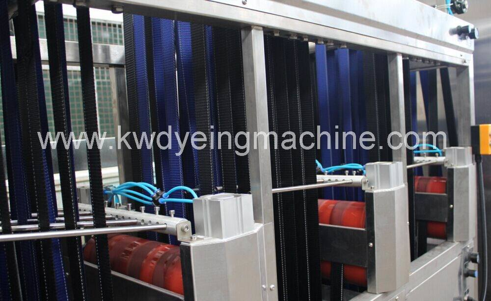 High Temperature Luggage Belt Dyeing Machine with Ce Approved
