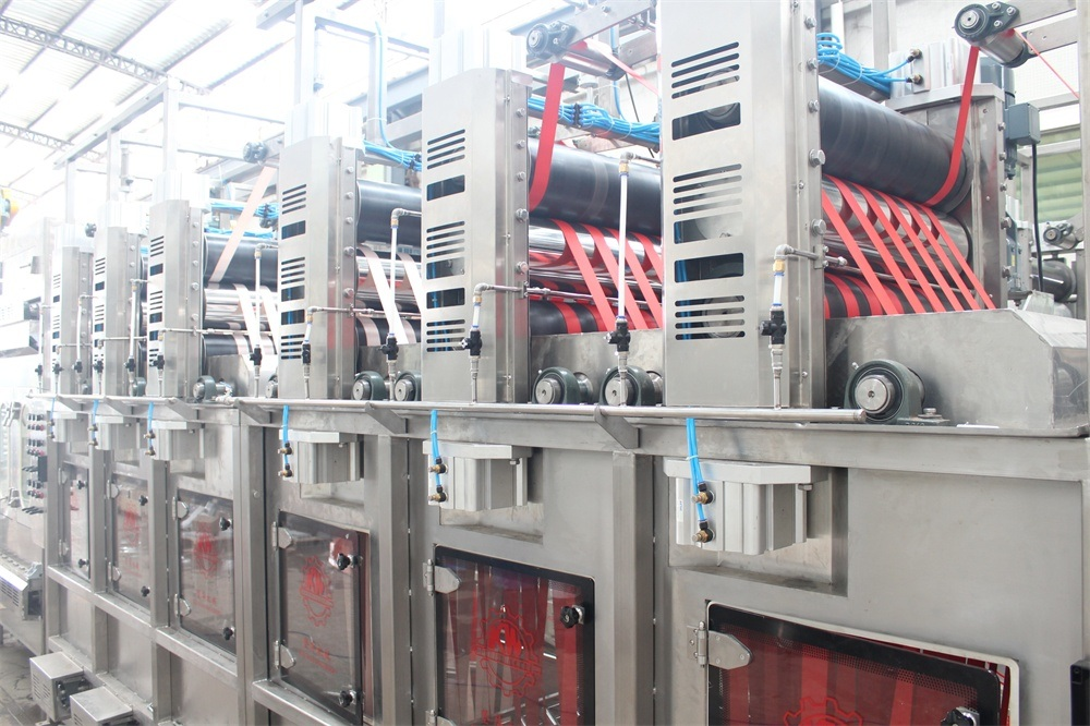 Factory Supply Nylon Elastic Tapes Continuous Dyeing And Finishing Machine - Single Line Safety Belt Continuous Dyeing and Finishing Machine – Kin Wah