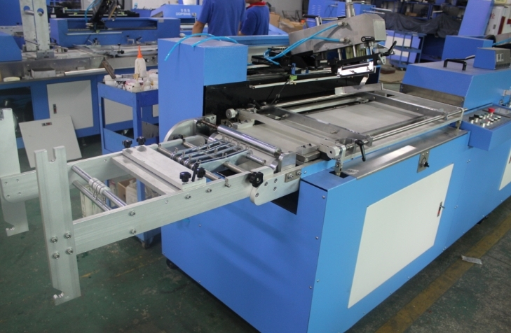 Factory Cheap Hot Silk Screen Printing Machine For Woven Labels - Elastic Tapes Automatic Screen Printing Machine with 30cm Width – Kin Wah
