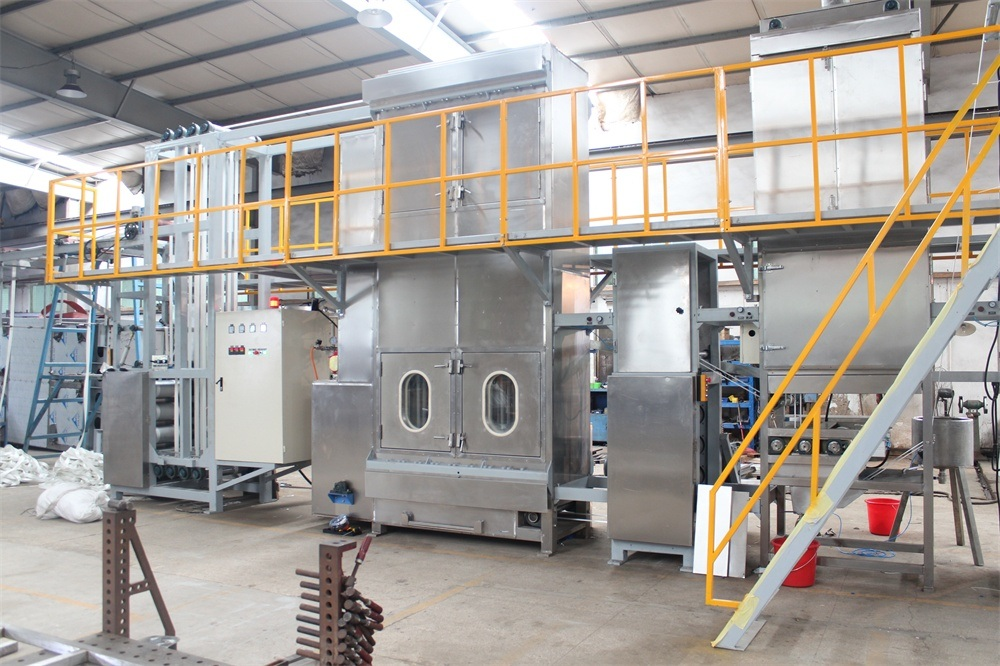 Polyester Heavy Duty Webbing Continuous Dyeing Machine with High Standard