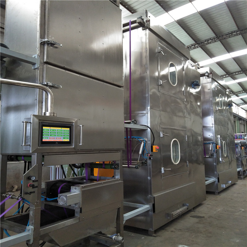 Super Purchasing for Gift Ribbons Silk Screen Printing Machine - Luggage Webbing Continuous Dyeing Machine – Kin Wah