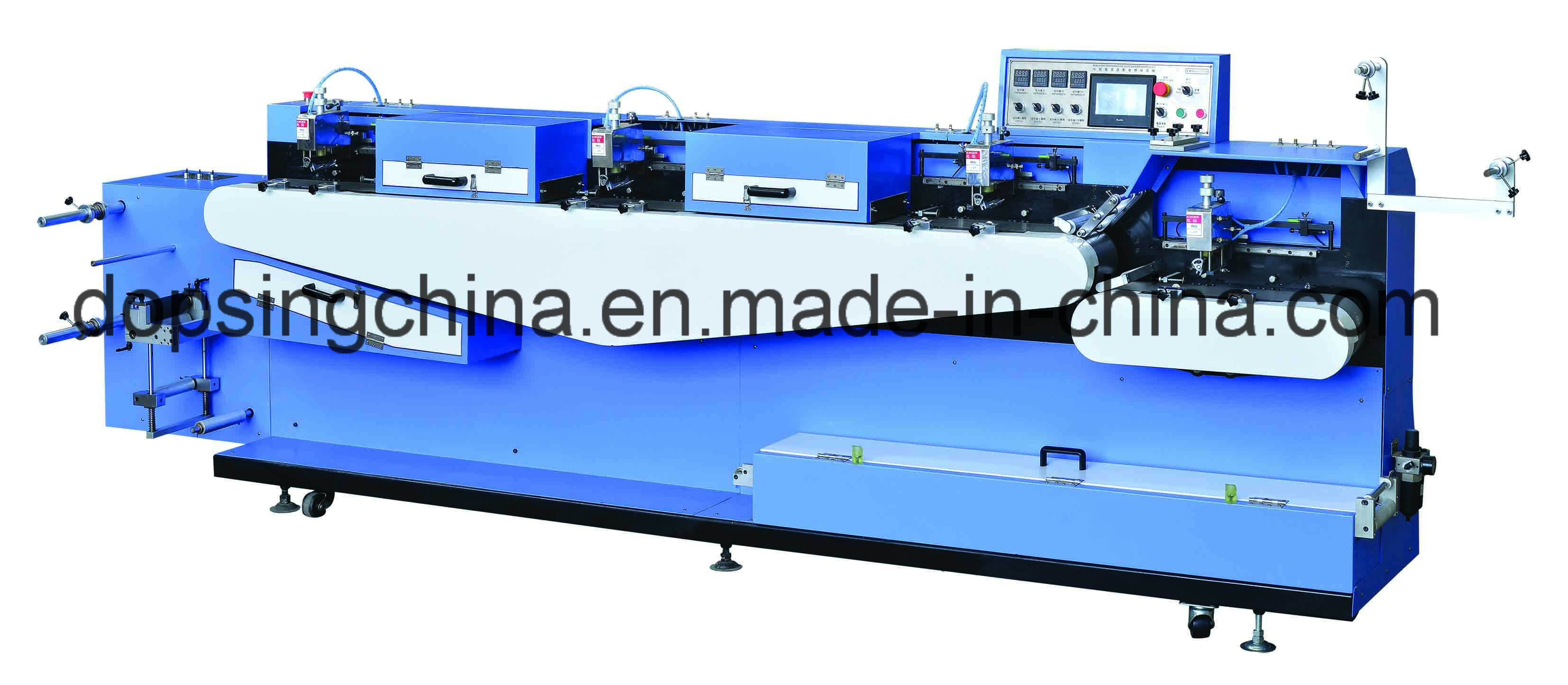Manufacturer of Two Colors Woven Ribbons Silk Screen Printing Machine -