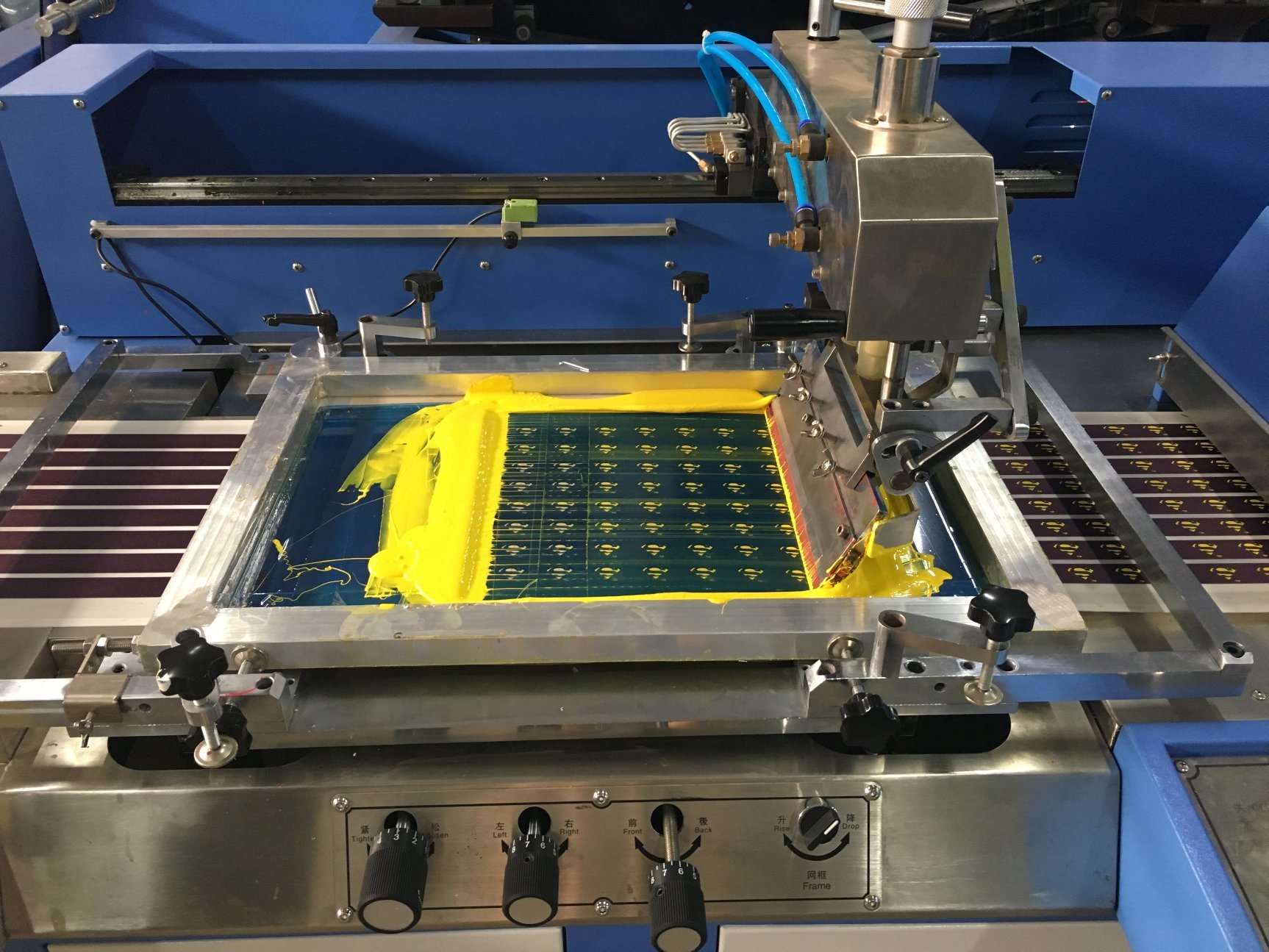 OEM/ODM Factory Harness Webbings Dyeing And Finishing Machine - Gift Ribbons Automatic Screen Printing Machine for Sale – Kin Wah