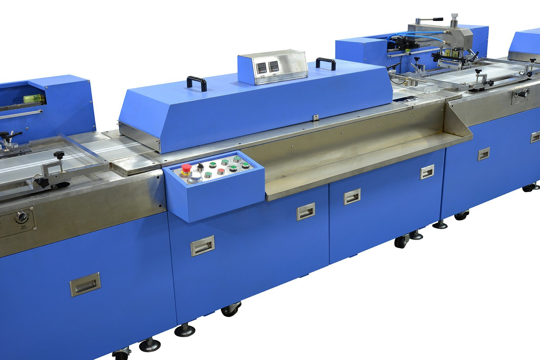 China Gold Supplier for Luggage Belt Dyeing And Finishing Machine - Cotton Label Automatic Screen Printing Machine – Kin Wah