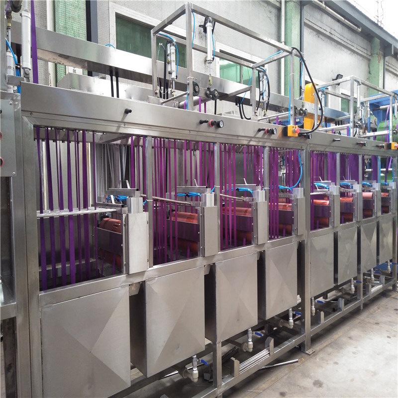 Excellent quality Aluminium Screen Serigraphie Printing Machine - Luggage Webbing Continuous Dyeing and Finishing Machine – Kin Wah