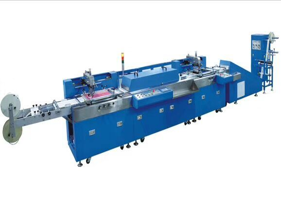 OEM/ODM Supplier Tie Down Webbings Screen Printer - Single Color Cotton Tape Automatic Screen Printing Machine with Ce – Kin Wah