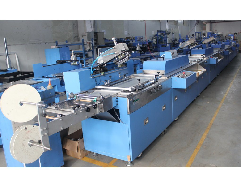 2017 Good Quality Screen Printer Manufacturers In India - Clothing Labels Automatic Screen Printing Machine for Sale (SPE-3000S-5C) – Kin Wah