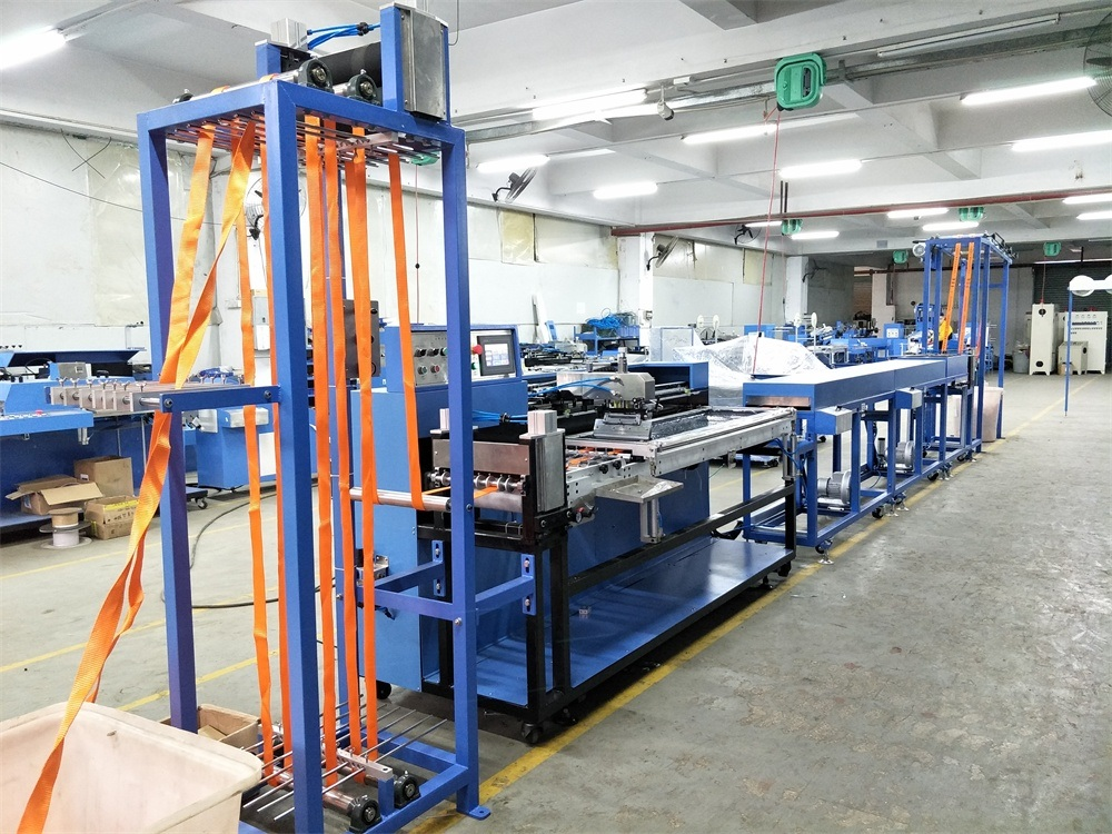 China Manufacturer for Polyester Ribbons Dyeing And Finishing Machine - Lifting Cargo Webbings Automatic Screen Printing Machinery – Kin Wah
