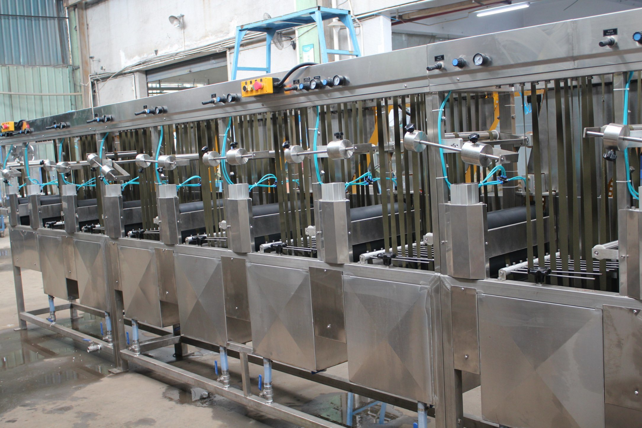Nylon&Polyester Webbings Continuous Dyeing and Finishing Machine Featured Image