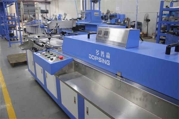 2colors Elastic Ribbons Automatic Screen Printing Machine