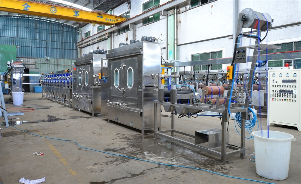 Nylon&Polyester Webbings Continuous Dyeing and Finishing Machine