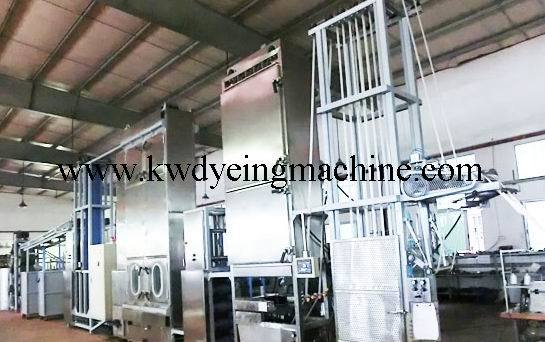 High Quality 4 Color 1 Station Rotary Screen Press -