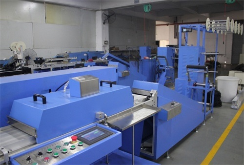 Single Color Satin Labels Automatic Screen Printing Machine