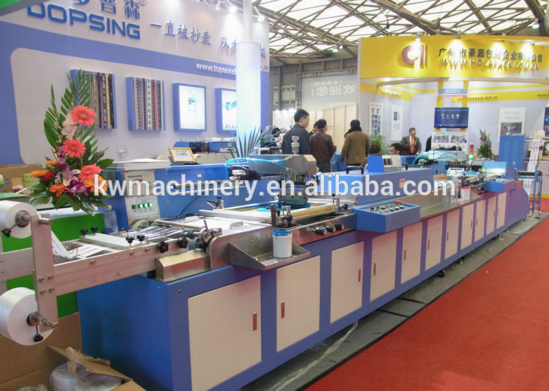 Clothing Labels Automatic Screen Printing Machine with High Precision