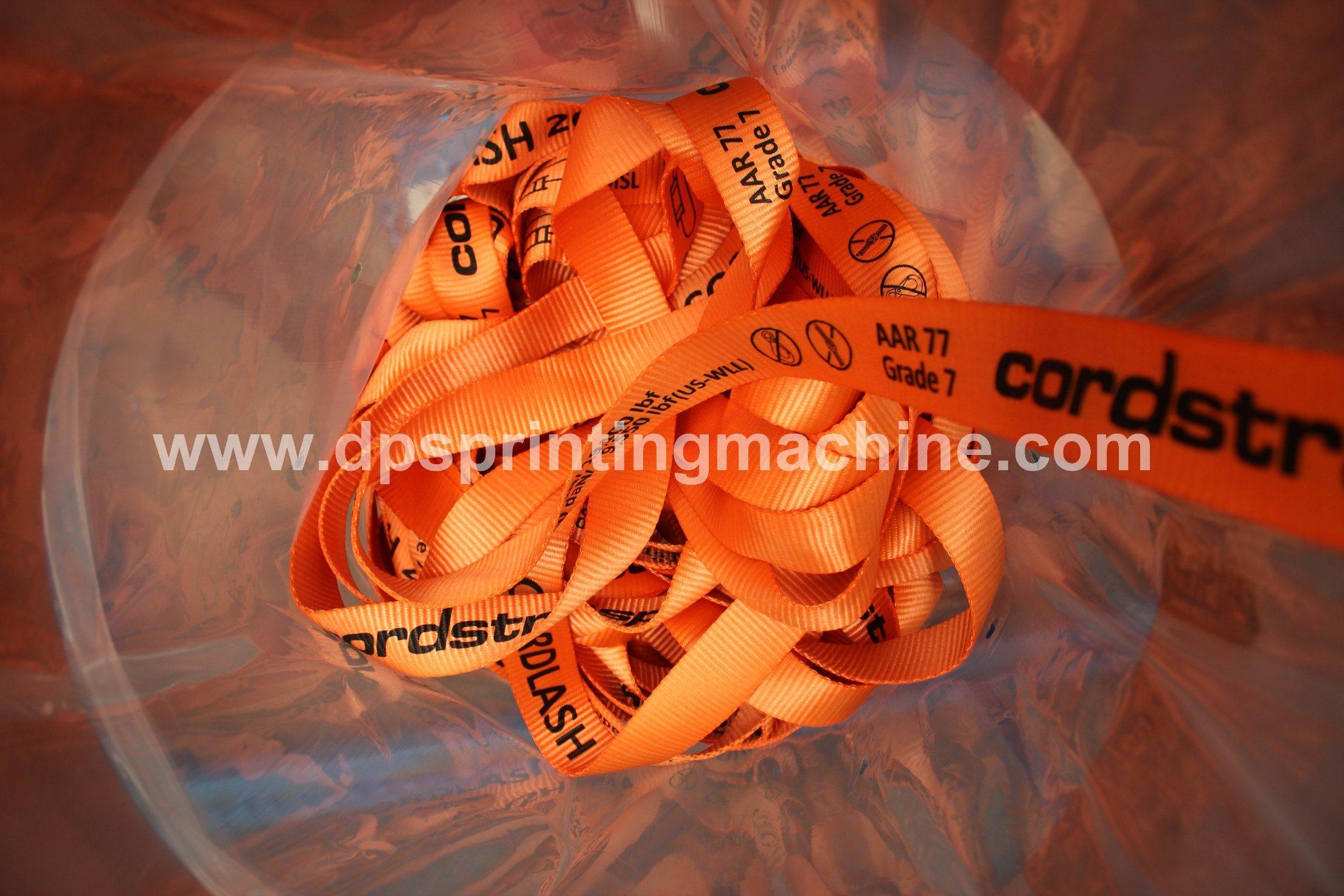 Bottom price Cosmetics Cap Screen Printing Machine - Fully Servo Screen Printing Machine for Lashing Straps – Kin Wah