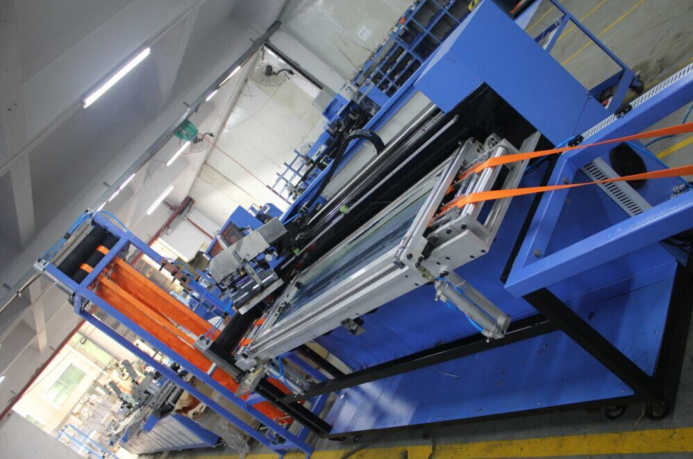 OEM manufacturer Polyester Ribbons Small Dyeing Machine - Heavy Duty Webbings Automatic Screen Printing Machine Ds-302b – Kin Wah