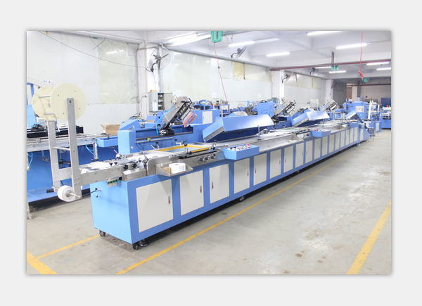 New Delivery for 8 Heads Woven Labels Winding Machine -
