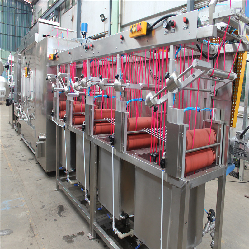 Online Exporter Bag Belts Starching And Finishing Machine - Nylon Bra Tapes Continuous Dyeing Machine – Kin Wah