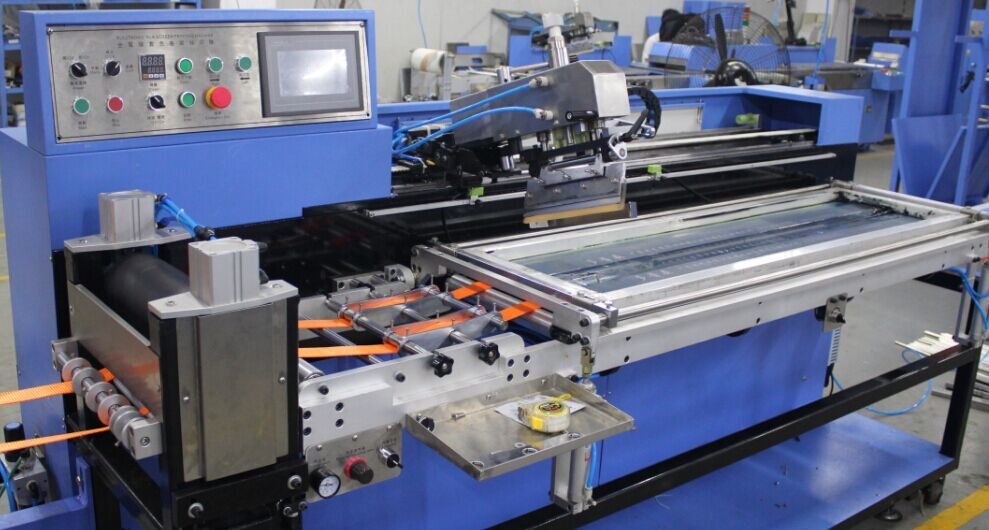 Cargo Webbings Automatic Screen Printing Machine Ce Approved