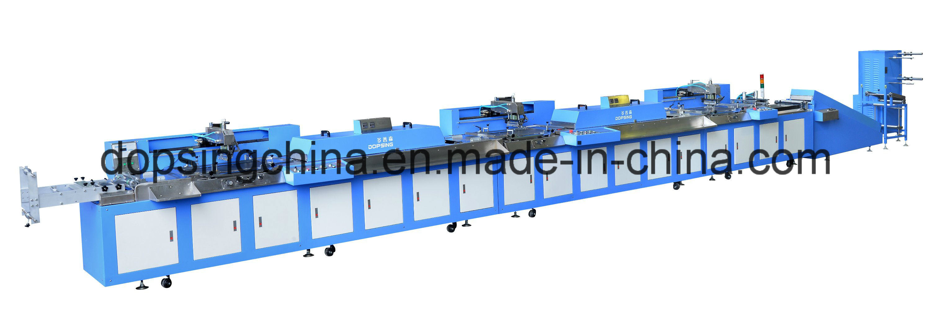 Fixed Competitive Price Automatic Tube Screen Printing Machine -