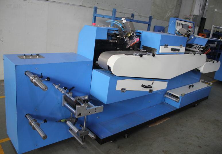 Low price for automatic Screen Printer – Automatic Screen Printer - Dopsing Automatic Woven Label Screen Printing Machine – Kin Wah