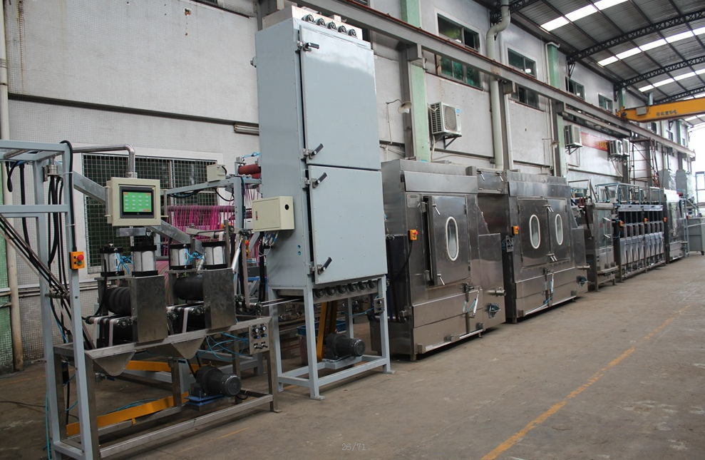 Bag Webbings Continuous Dyeing Machine with High Speed