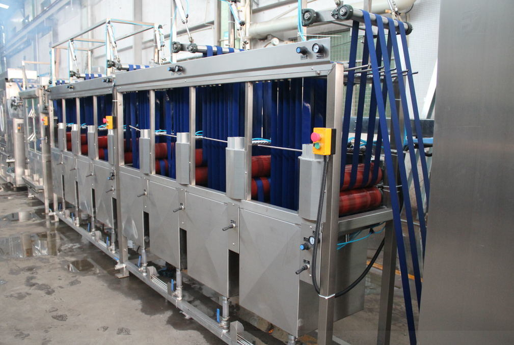 EUR Standard Luggage Belt Dyeing Machine with Finishing Treatment