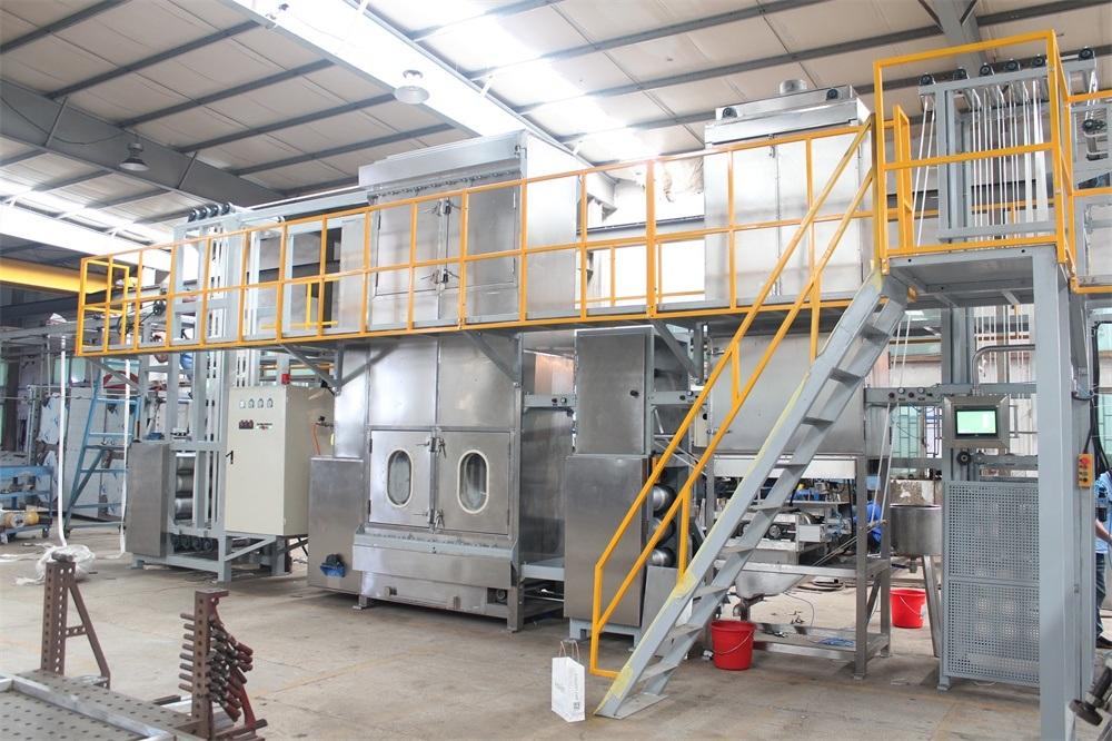 China manufacturer lashing straps dyeing and finishing machine
