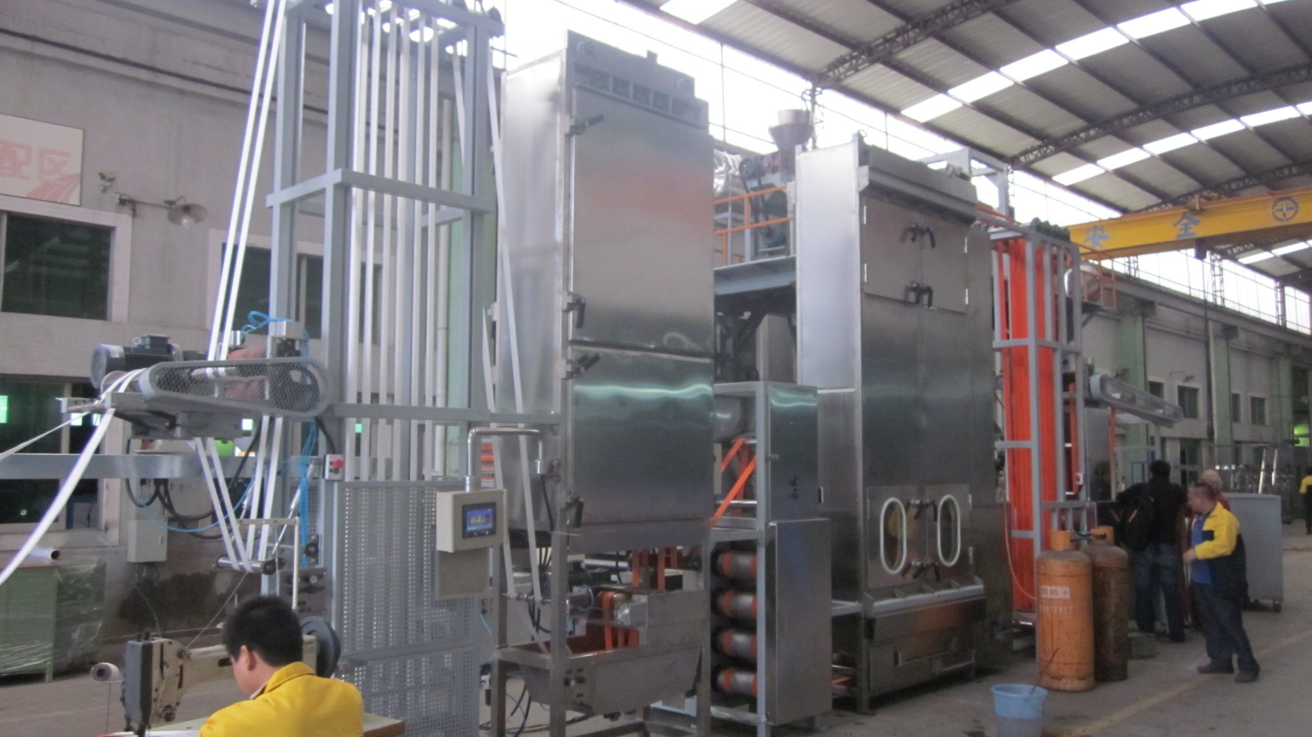 Sling Webbings Continuous Dyeing&Finishing Machine with Ce Certificate