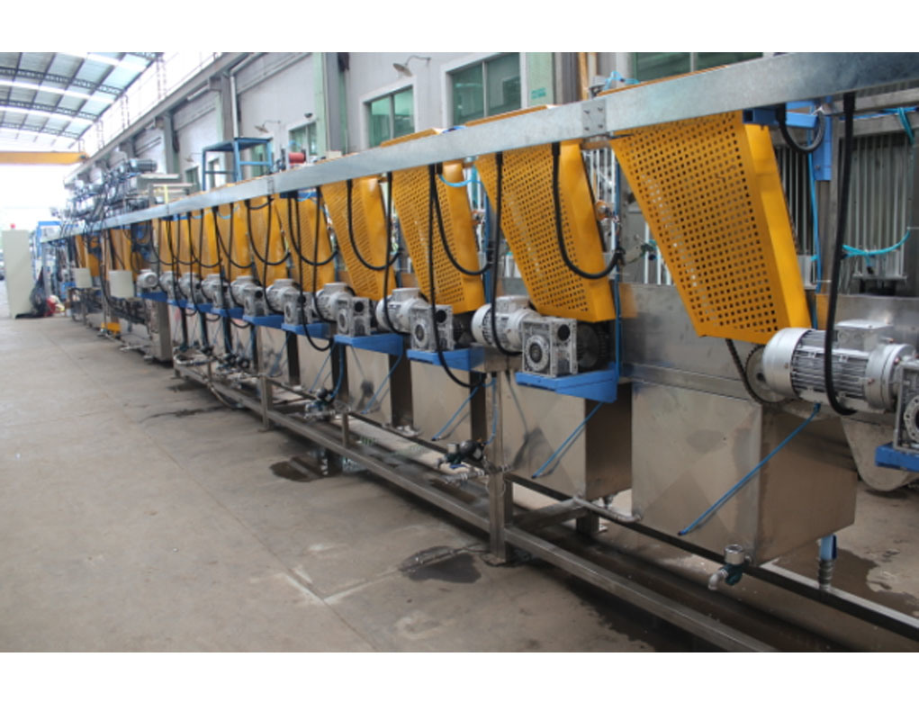 Nylon Elastic Tapes Continuous Dyeing Machine with High Efficiency