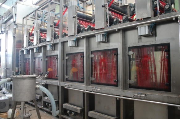 Rapid Delivery for Polyester Bag Belts Continuous Dyeing Machine -
