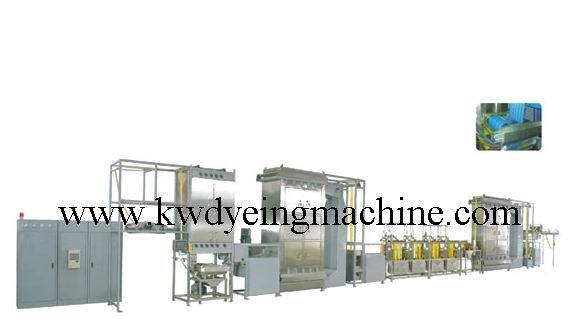 Fixed Competitive Price Polyester Bag Belts Dyeing Machine - Lift-Sling Webbings Continuous Dyeing and Finishing Machine – Kin Wah