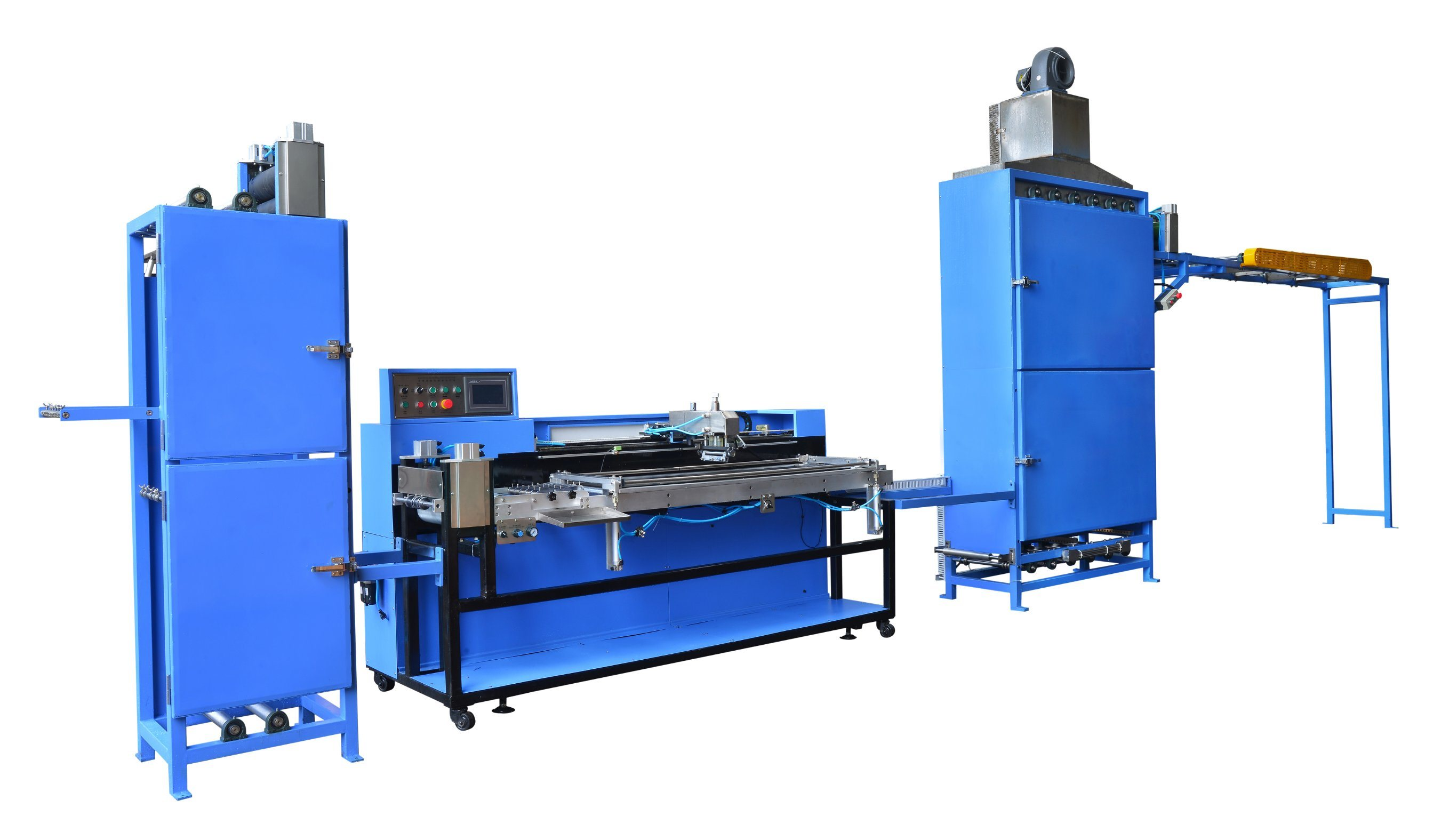 Low MOQ for 6 Heads Labels Winding Machine - Fully Servo Screen Printing Machine for Lashing Straps – Kin Wah Featured Image