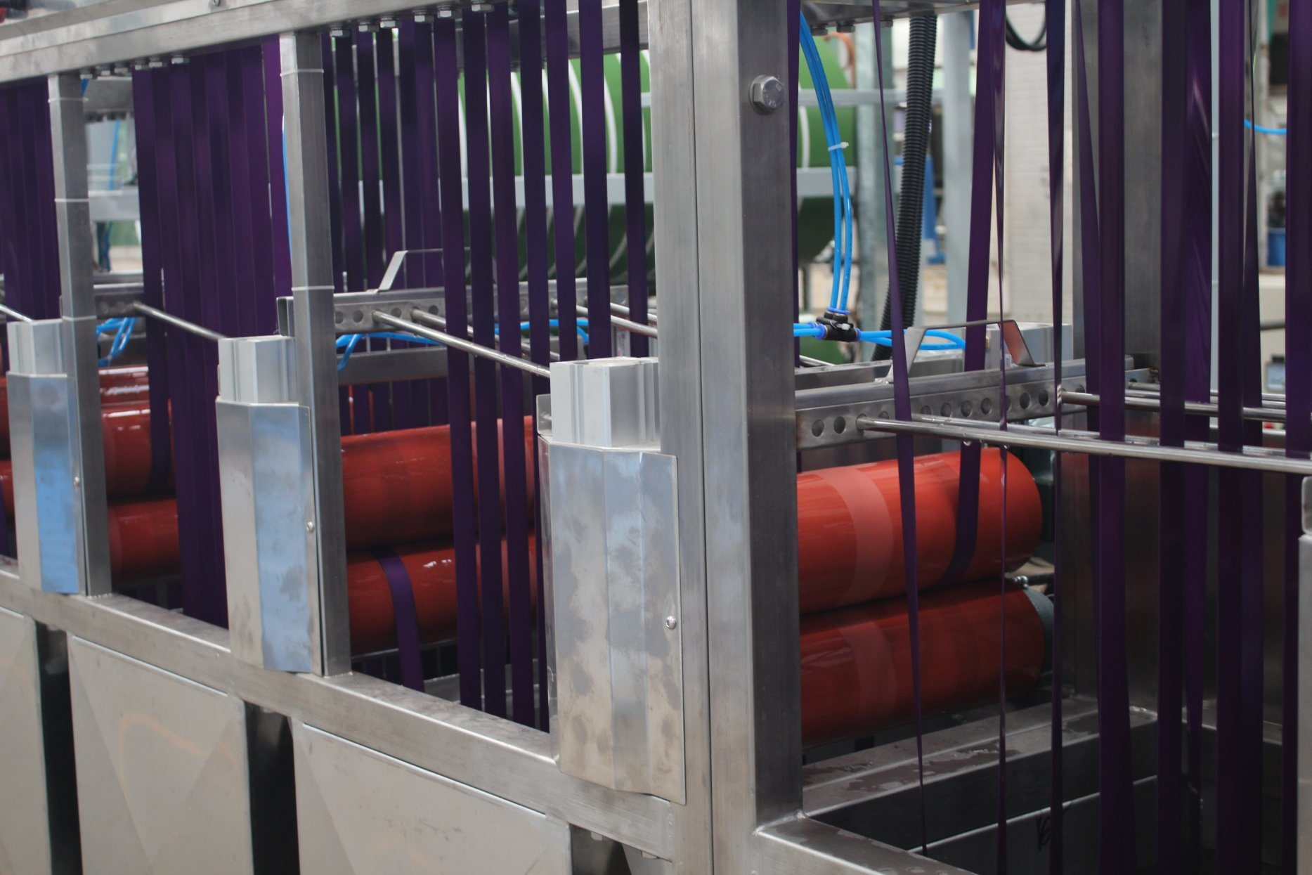 China New Product Multi-Line Ends Automobile Seatbelt Webbings Continuous Dyeing And Finishing Machine - Luggage Belt Continuous Dyeing&Finishing Machines – Kin Wah