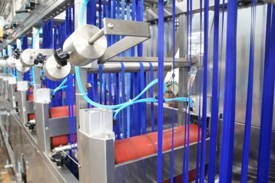 China Supplier Content Tapes Winding Machine - Nylon Bra Tapes Continuous Dyeing Machine with Finishing Treatment – Kin Wah