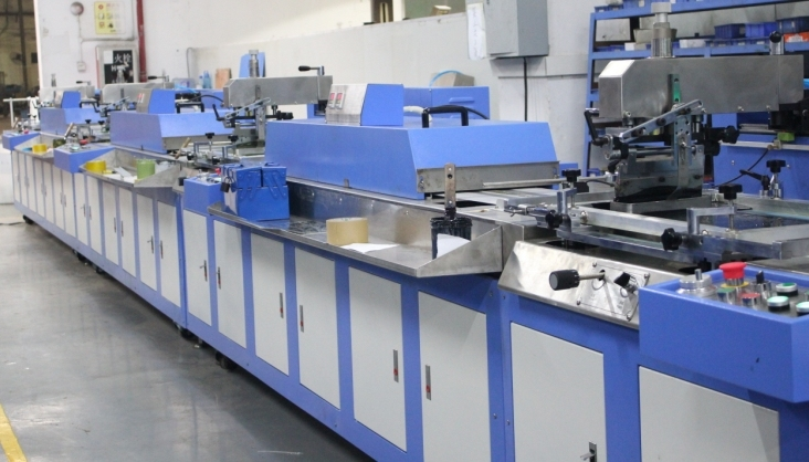 Good Wholesale Vendors Two Color Offset Press - Streight Type 5 Colors Label Ribbons Automatic Screen Printing Machine – Kin Wah