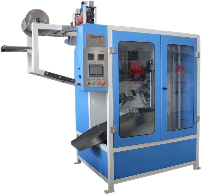Factory wholesale Printer Plastic Sheet - Seatbelt Automatic Cutting and Winding Machine with Stapling Function – Kin Wah
