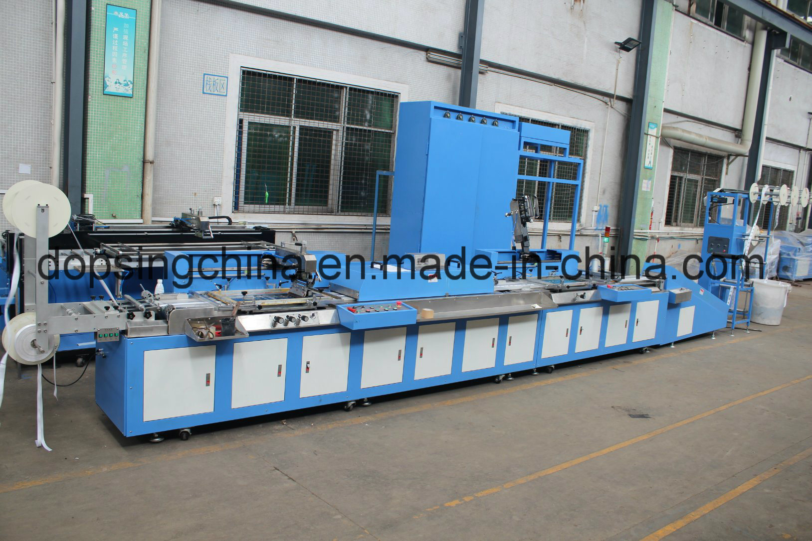 China Supplier Ribbons Continuous Dyeing Machine -