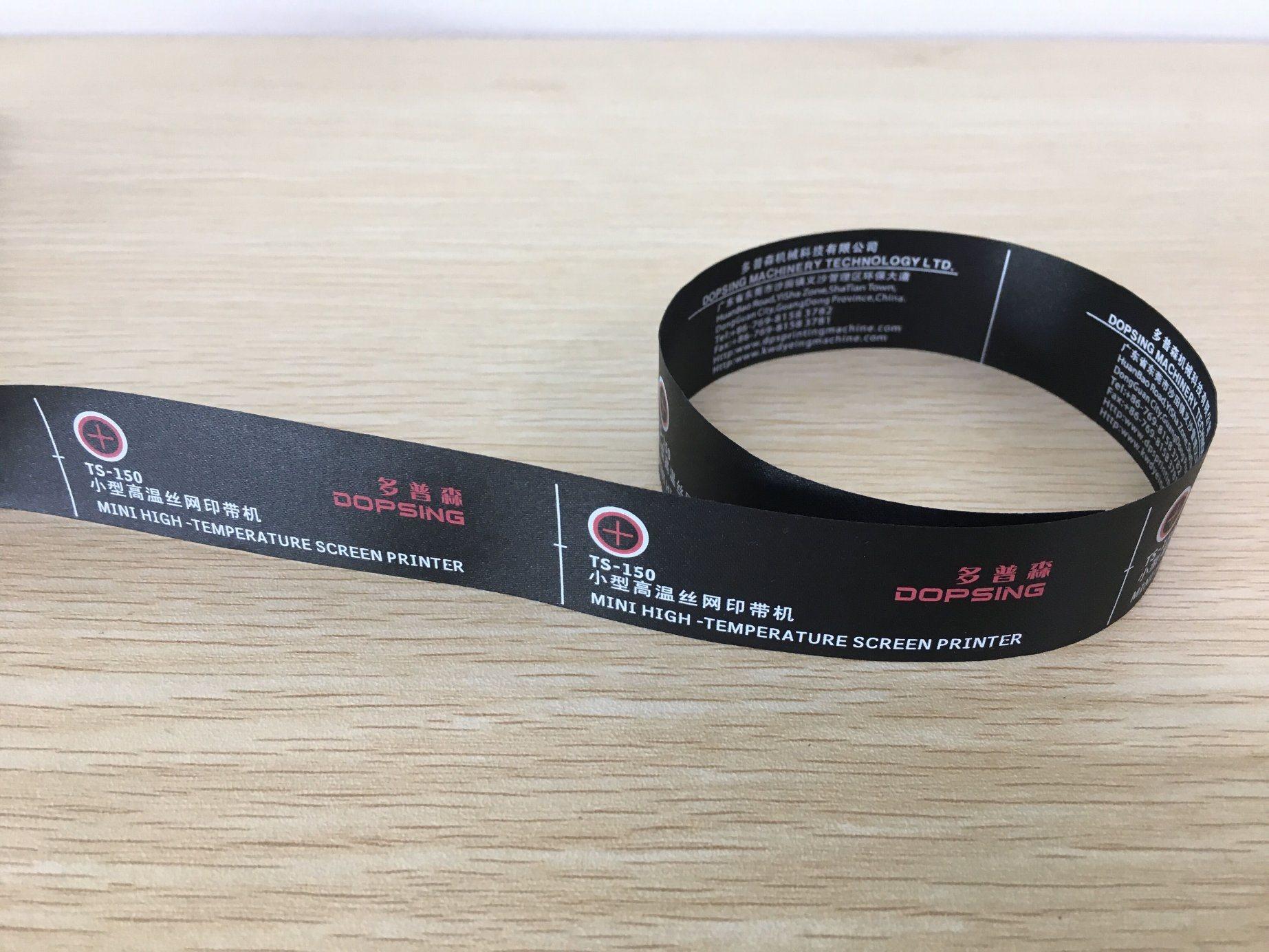 Elastic Tape/Care Labels/Label Ribbon Silk Screen Printing